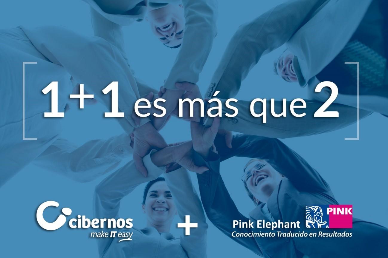 El Grupo Cibernos y Pink Elephant sellan una alianza estratégica para apoyar en la Transformación Digital a las empresas en España