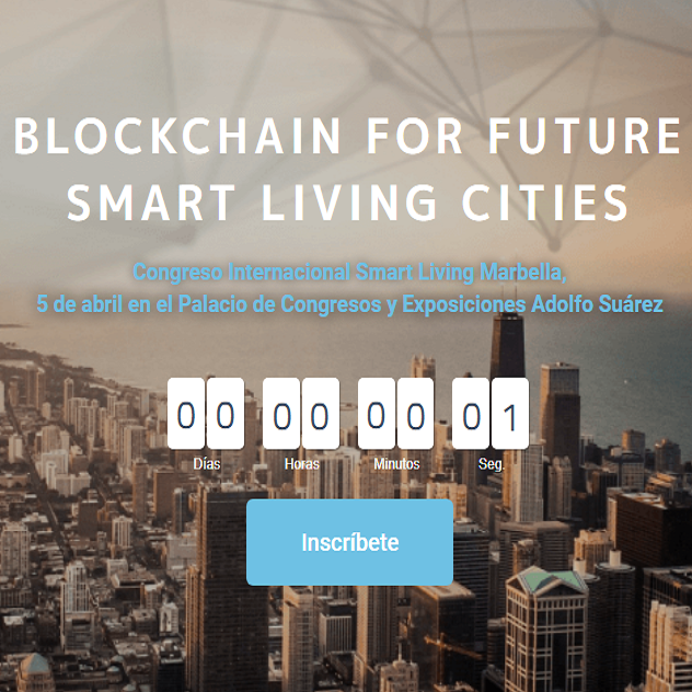 La blockchain de Cibernos en Smart Living Cities Marbella 2019